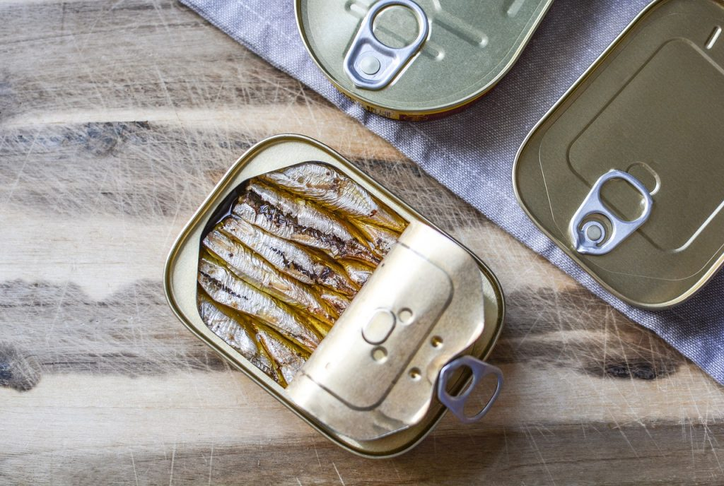 Boîte de poisson