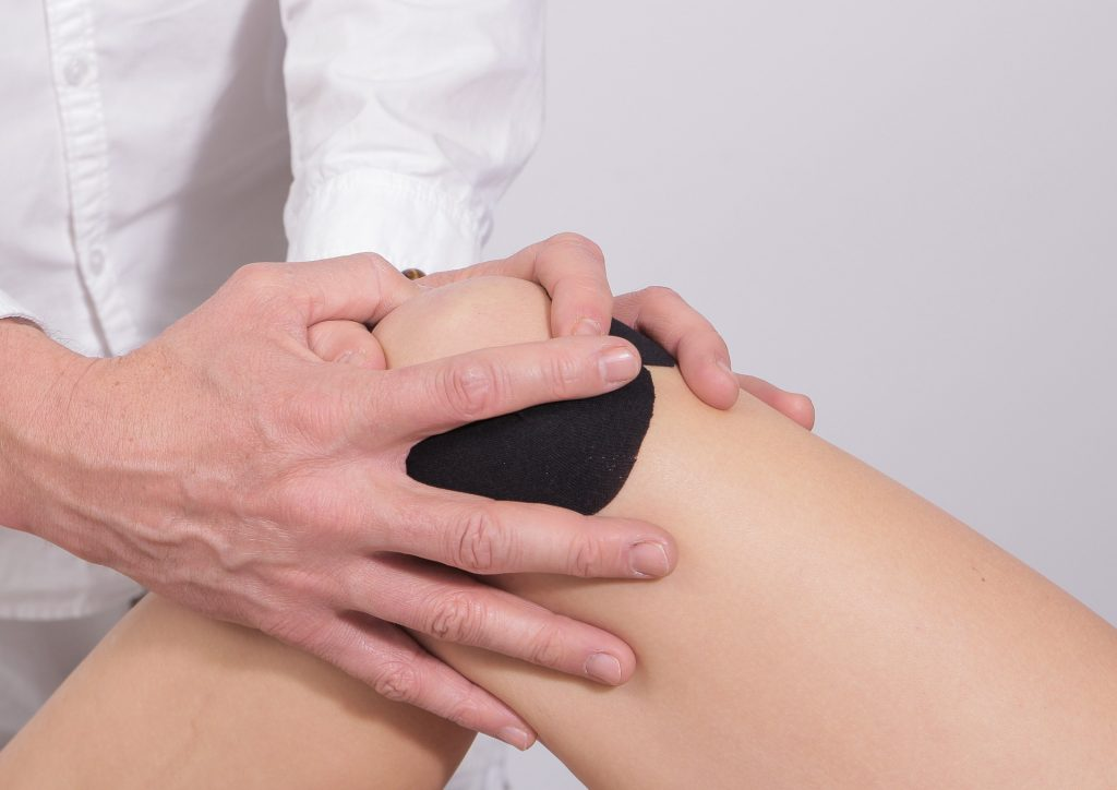 une maladie du genou
